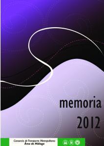 MEMORIA de abril de 2013