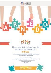 Memoria de actividades a favor de la Infancia y Adolescencia. Ayuntamiento de Arnedo