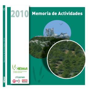 Memoria de Actividades Memoria de Actividades