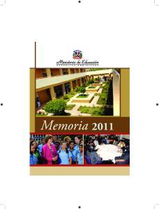 Memoria Memoria 2011