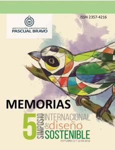 MEMORIAS ISSN MEMORIAS