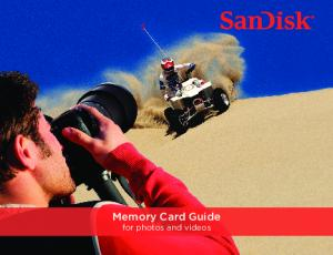 Memory Card Guide for photos and videos