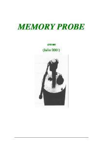 MEMORY PROBE CTD ME. (Julio 2001)