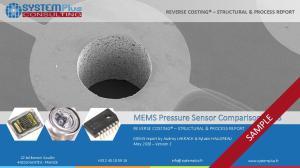 MEMS Pressure Sensor Comparison 2018