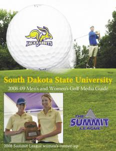 Men s and Women s Golf Media Guide