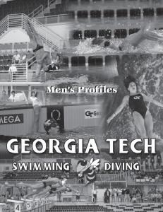 Men s Profiles. Men s Profiles GEORGIA TECH SWIMMING & DIVING