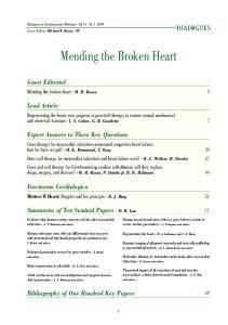 Mending the Broken Heart