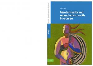 Mental health and reproductive health in women