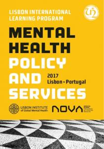 MENTAL HEALTH POLICY AND SERVICES