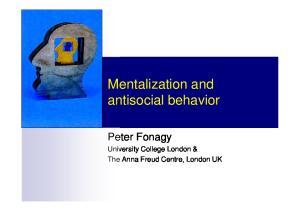 Mentalization and antisocial behavior
