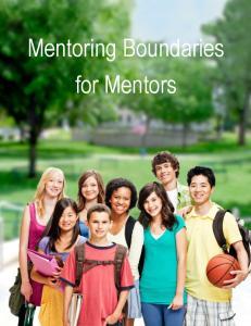 Mentoring Boundaries for Mentors
