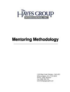 Mentoring Methodology