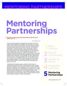 Mentoring Partnerships
