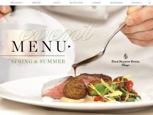 menu Spring & Summer