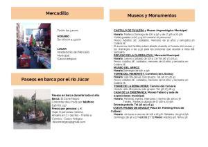 Mercadillo Museos y Monumentos