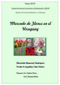 Mercado de Flores en el Uruguay