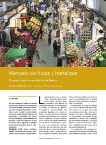 Mercado de frutas y hortalizas