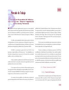 MERCADO DE TRABAJO. Mercado de Trabajo