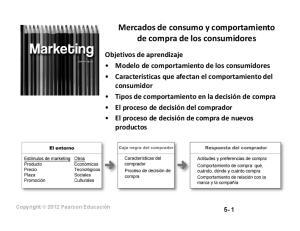 Mercados de consumo y comportamiento de compra de los consumidores