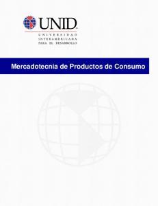 Mercadotecnia de Productos de Consumo