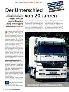Mercedes Actros Alt gegen Neu