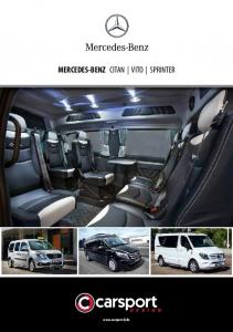 MERCEDES-BENZ CITAN VITO SPRINTER