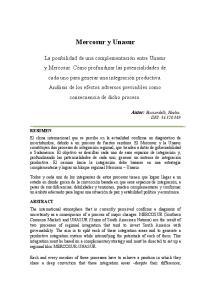 Mercosur y Unasur. Autor: Ricciardelli, Noelia. DNI: