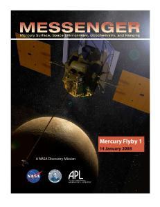 Mercury Flyby 1 14 January 2008