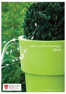 Mercury Pots Catalogue 2014