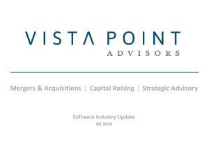 Mergers & Acquisitions Capital Raising Strategic Advisory