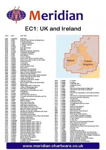 Meridian. EC1: UK and Ireland.  Chart Scale Chart Title