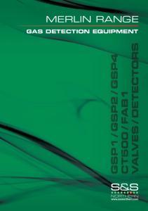 MERLIN RANGE GAS DETECTION EQUIPMENT