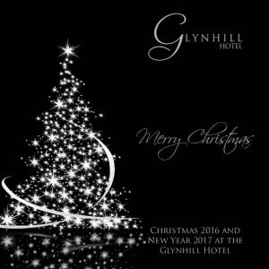 Merry Christmas. Christmas 2016 and New Year 2017 at the Glynhill Hotel