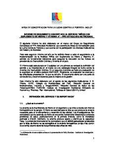 MESA DE CONCERTACION PARA LA LUCHA CONTRA LA POBREZA - MCLCP