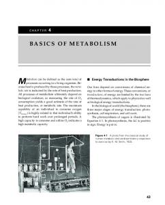 Metabolism can be defined as the sum total of