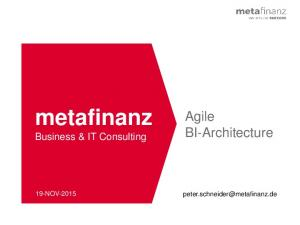metafinanz Business & IT Consulting
