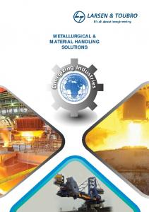METALLURGICAL & MATERIAL HANDLING SOLUTIONs