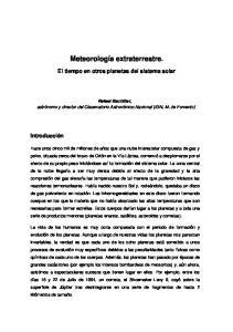 Meteorología extraterrestre