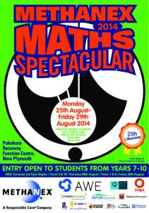 Methanex Maths Spectacular 2014 Information Booklet