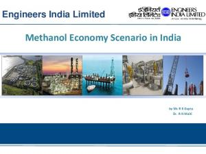 Methanol Economy Scenario in India