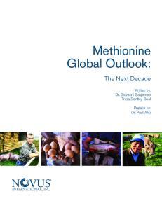 Methionine Global Outlook: