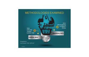 METHODOLOGIES EXAMINED