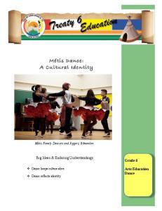 Métis Dance: A Cultural Identity