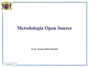 Metodologia Open Source