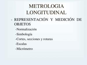 METROLOGIA LONGITUDINAL
