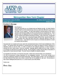 Metropolitan New York Chapter