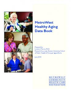 MetroWest Healthy Aging Data Book