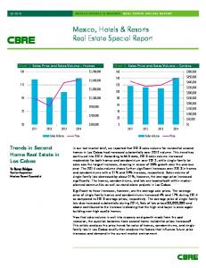 Mexico, Hotels & Resorts Real Estate Special Report