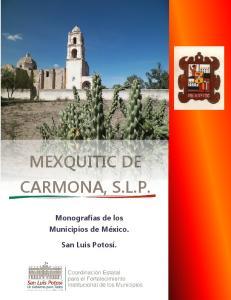 MEXQUITIC DE CARMONA, S.L.P