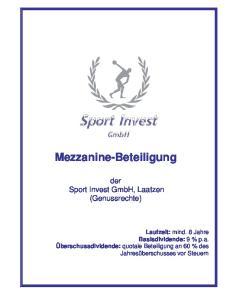 Mezzanine-Beteiligung